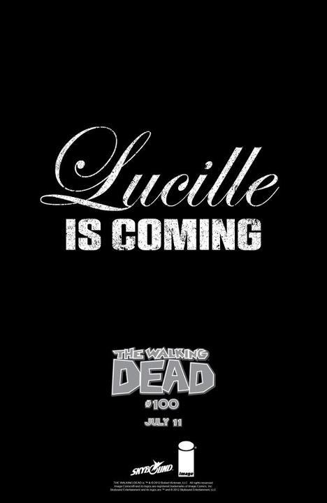 HOLY SHIT??? WHAT DOES THIS MEAN??? ARE THEY TALKING ABOUT THIS LUCILLE???