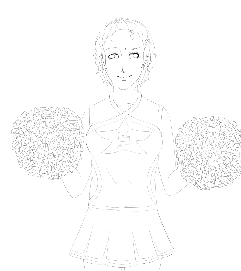 how do you even draw pom poms
