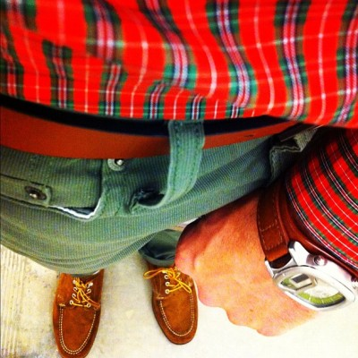 How's your accessory game? Do your shoes match your belt and watch? (Taken with Instagram)