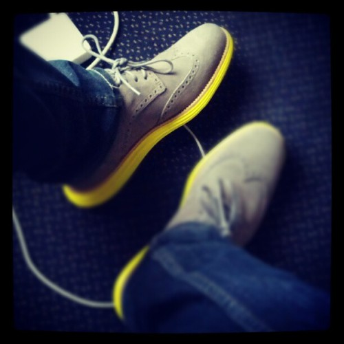 Steppin' up my shoe game (Taken with Instagram)