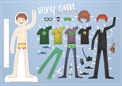 Dress up your very own Charlie with this awesome new poster from DFTBA. Cut out Charlie and his clothes to make your own stand-up for any occasion, or hang it on your wall! As a super special bonus, when you buy the first Charlie poster at $10, each additional Charlie poster is only $5! I'm gonna get twenty of them and start leaving little Charlies all over the house for Alan to find. =) -Kristen Get yours here.