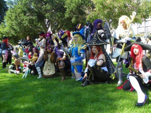League of Legends Girls @ Fanime 2012