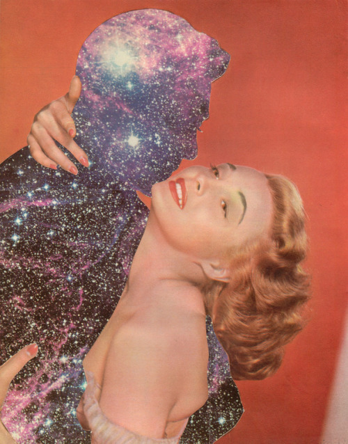 Antares and Love #2 by Joe Webb - runner-up winner of Collage Showdown