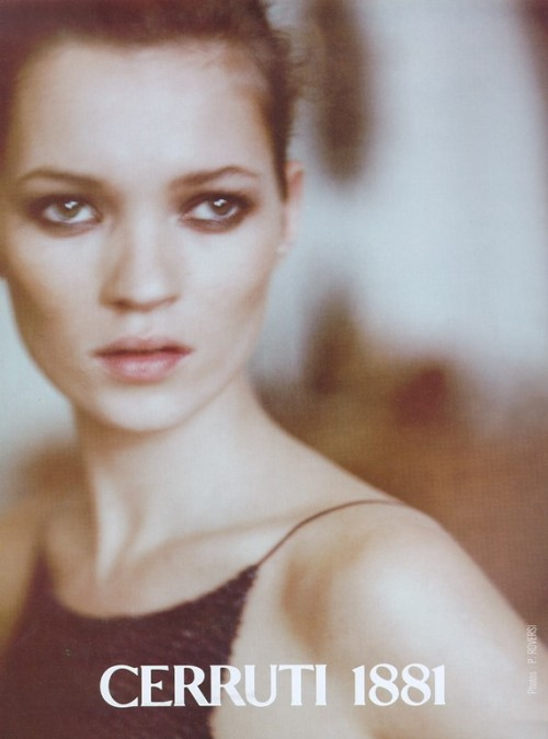 supermodelshrine:  Kate for Cerruti 1881, by Paolo Roversi