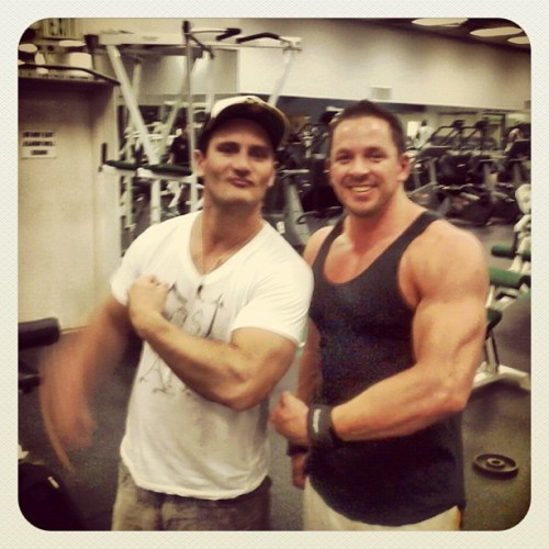 Tickets to the gun show. Me and my cuz (Taken with Instagram)