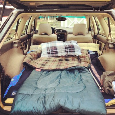 letsrunawaytogethr:  trashxcat:  Ready for a road trip  omfg imagine laying here and cuddling or having sex
