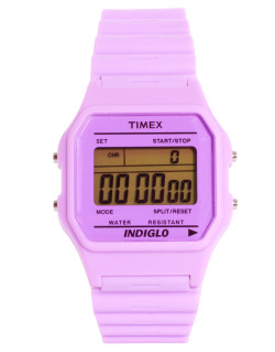 Timex 80 Pastel Purple Buckle Clasp WatchMore photos & another fashion brands: bit.ly/JgPIq6