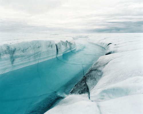 Greenland Icy Landscape by Otto Becker