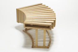 Piece of the week - XYLO table, inspired by a xylophone. I know it sounds bad, but I actually think this is kinda cool.  You? Source: http://design-milk.com/xylo-table-by-nucharin-wangphongsawasd/
