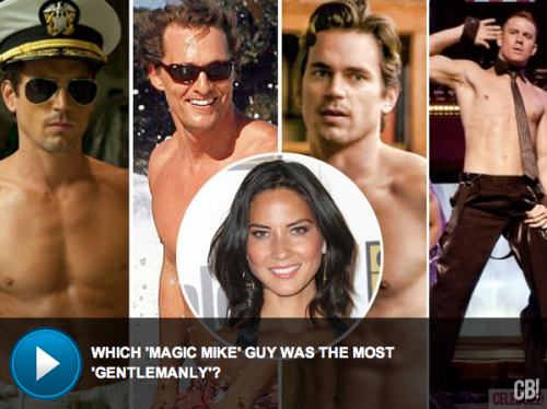 VIDEO: Olivia Munn ranks her favorite costar strippers…who makes the cut?