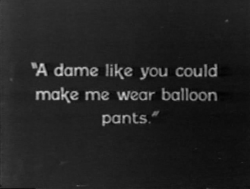 silentintertitles:  From My Lady of Whims (1925)