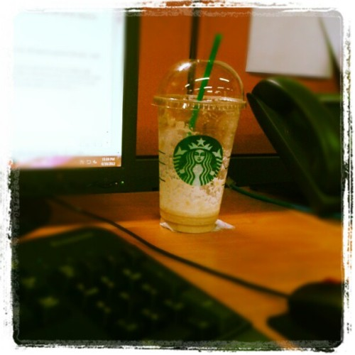 What a great way to start working! Lol (Taken with Instagram)