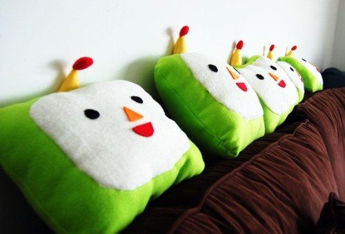 etsywinning:  Katamari Pillow Click photo to go to listing! Enjoy geeky #swag? Follow me!