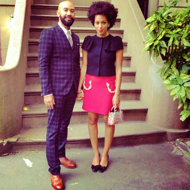effyeahsol-angel:  Solange and her boyfriend Alan <3