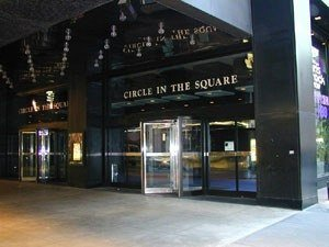 wanderingpathway:  Circle in the Square Theatre pre-Godspell. I can barely recognize it without the bright red reflecting off every surface.  taken from yelp