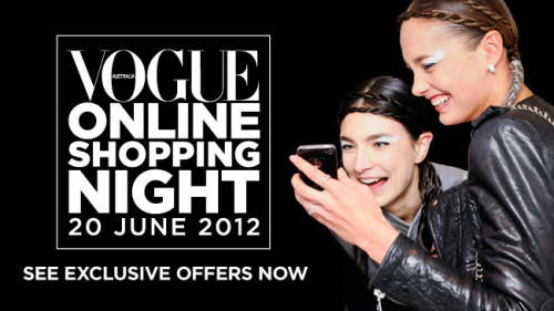 Vogue Online Shopping Night is here! Get exclusive discounts between midday and midnight from our favourite brands and retailers. Get everything you need to know about VOSN here.