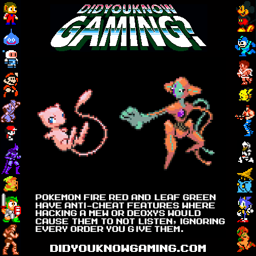Pokemon Fire Red and Leaf Green.