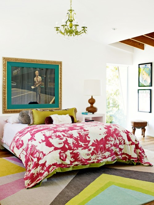 georgianadesign:  Romantic bedroom. Holly Becker and Joanna Copestick.