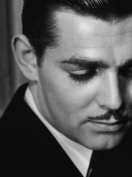 deforest:  Clark Gable in Strange Interlude, photographed by George Hurrell, 1932.