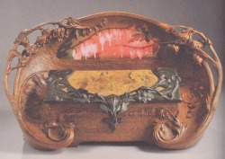 Memory box by Jacques Gruber, ca. 1898