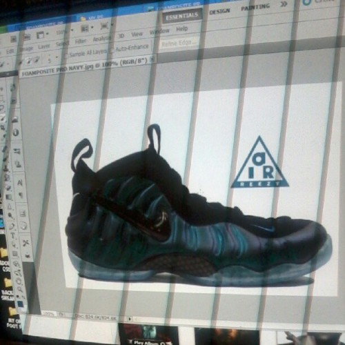 Idk yet. Foamposite pro navy #foamposite #foams #foam #foampositepro #nt #ps #sneakerhead #sneaker #whatif (Taken with Instagram)