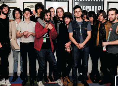 rhysjoejoshtomfaris:  The Horrors and the Vaccines at Chazzstock