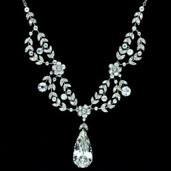 Belle Epoque diamond necklace
