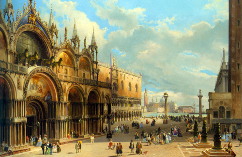St Mark's And The Doge's Palace - Carlo Grubacs