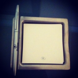 Handy dandy notepad=)  (Taken with Instagram)