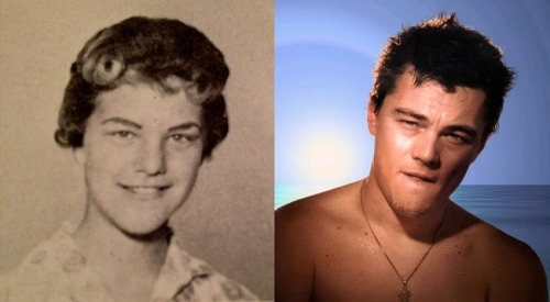 funktron:  uproxx:  Leonardo DiCaprio Is Clearly A Time-Traveling Lady Vampire From The 1960s Named Judy Zipper  Well there you have it.