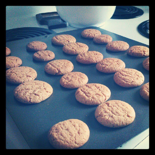 Yay peanut butter cookies!  (Taken with Instagram)