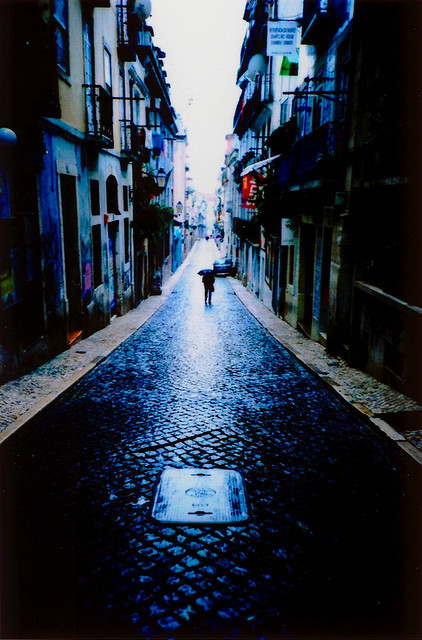 pinec0nez:  a rainy morning in Lisbon