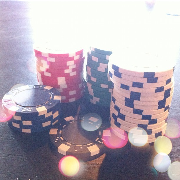 Poker night :) (Taken with Instagram)