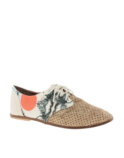 Osborn Sunset Cork Oxford Flat ShoesMore photos & another fashion brands: bit.ly/JgPlM7