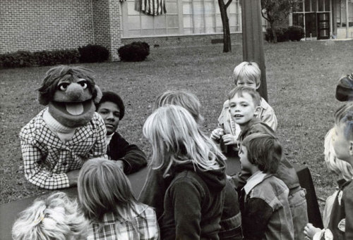 Elmo Puppeteer: Kevin Clash performing for local children in Baltimore in 1975 MP3 via NPR
