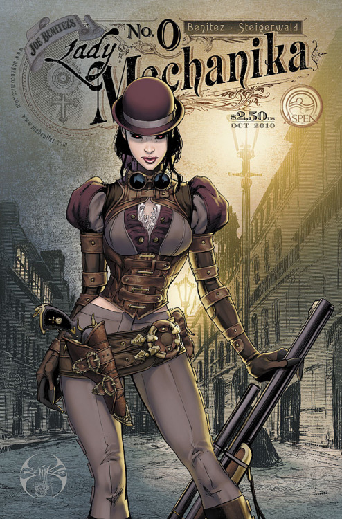 Lady Mechanika No. 0 by ~joebenitez I'm checking this series out. It looks good.