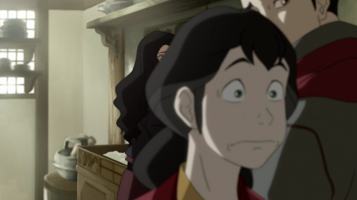 Pema's face. Haha awesome.