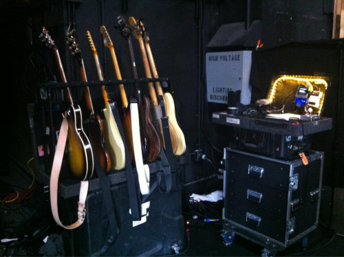 iamsangsouvanh:  Being my las tour, this is my last guitar world set-up. As well as the last Thrice guitar world set-up, for now…