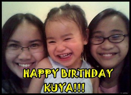 "Cutest birthday greeting from cousins. :"">"