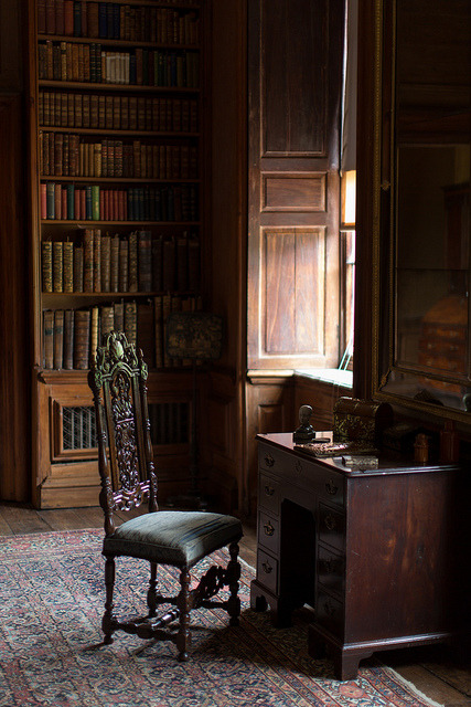 architekuture-interior:  Dyrham House. The chair by Vibrimage