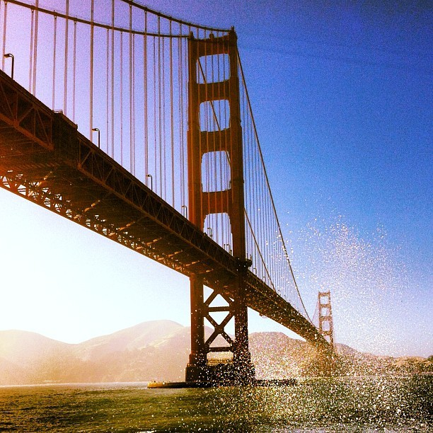#goldengate #internationalorange (Taken with Instagram at Hopper's Hands)