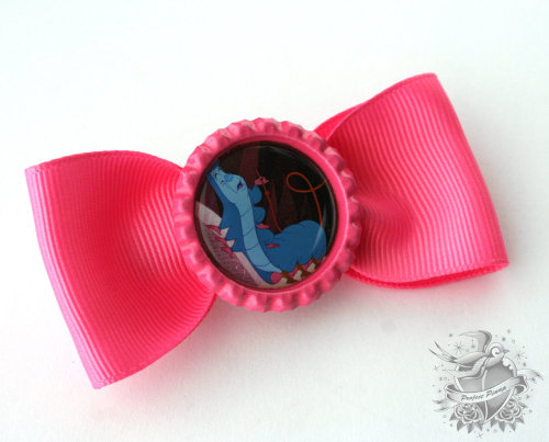 Alice in Wonderland Caterpillar Hair Bow $8 https://www.etsy.com/listing/102522069/alice-in-wonderland-the-caterpillar