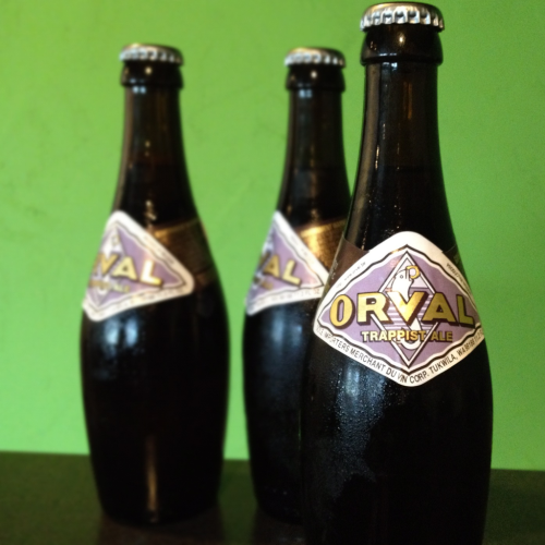Recently, I reviewed the Orval Trappist Ale. Listen to the podcast.