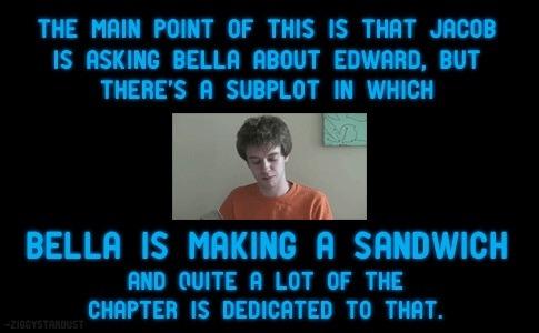 Alex Reads Twilight <3