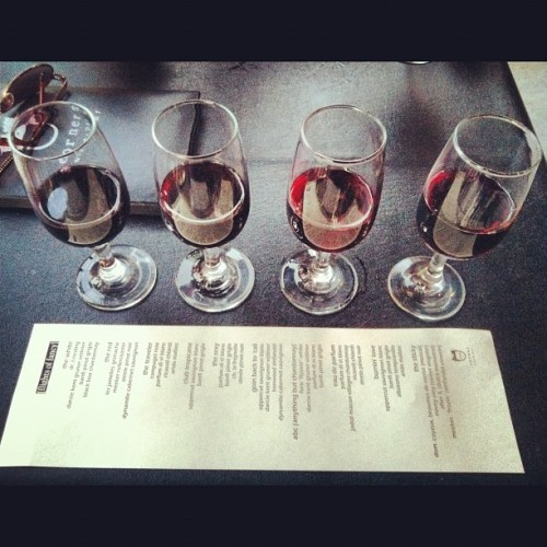 Red Flight (Taken with Instagram at Corner Wine Bar)