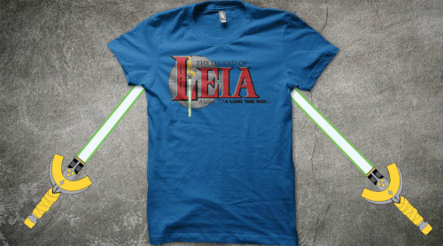 Vote for this at http://www.qwertee.com/product/the-legend-of-leia/
