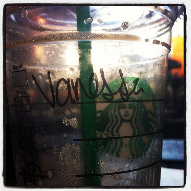 Just had #starbucks with Anna.. (: (Taken with Instagram)
