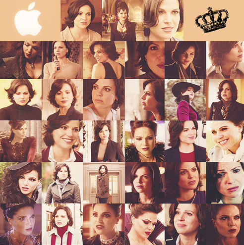 One screen cap per episode | Regina Mills/The Evil Queen {v2}