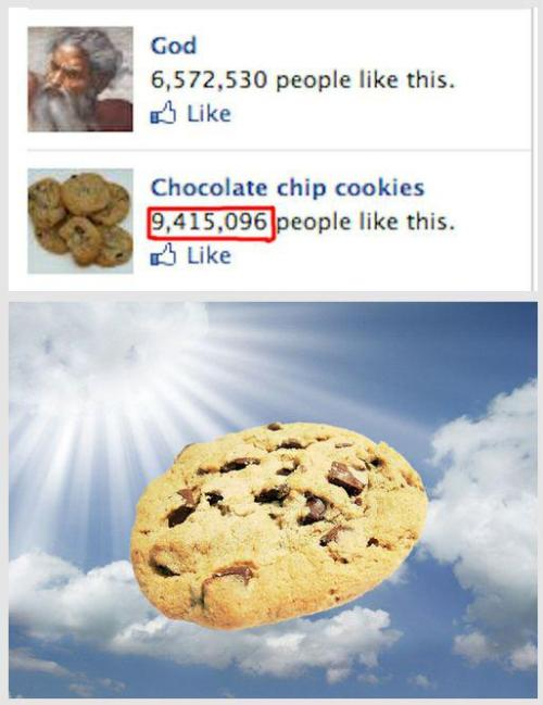 Isn't it obvious why more people like cookies? It's because they are fucking tasty!