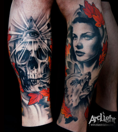 Artist: Mason Williams, ArcLight Tattoo Studio                                     Cincinnati, OH u.s.a. www.mason-tattoo.com
